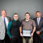 KSS sponsored award for maintaining equipment and supplies