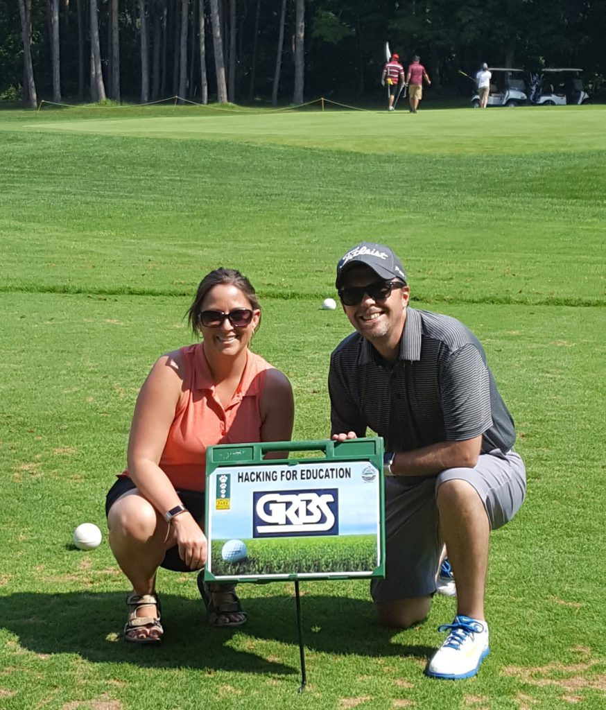 GRBS sponsor sign