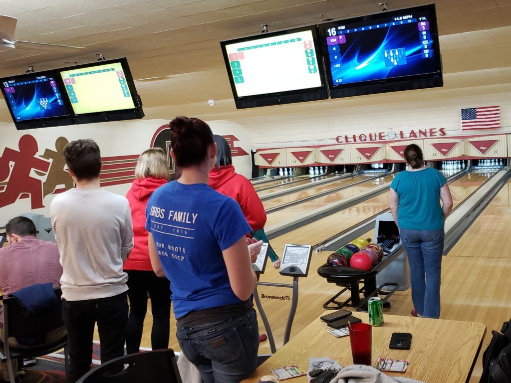 group having fun